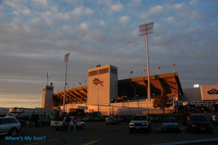Ralph Wilson Stadium, Orchard Park NY.  We lived one mile from here and you could hear the crowd cheer on game day.