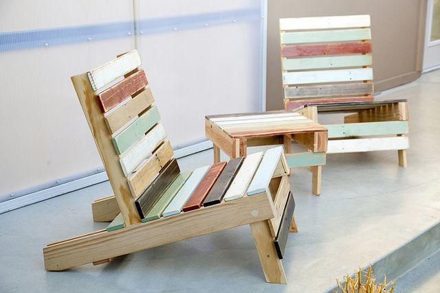 Make furniture out of wood pallets!  Visit us at www.millenniumwasteinc.com for more information about recycling and waste management.