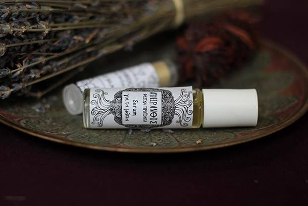 #apeiranthos #natural #cosmetics #serum #lavender #handmade #product #greek #minimal