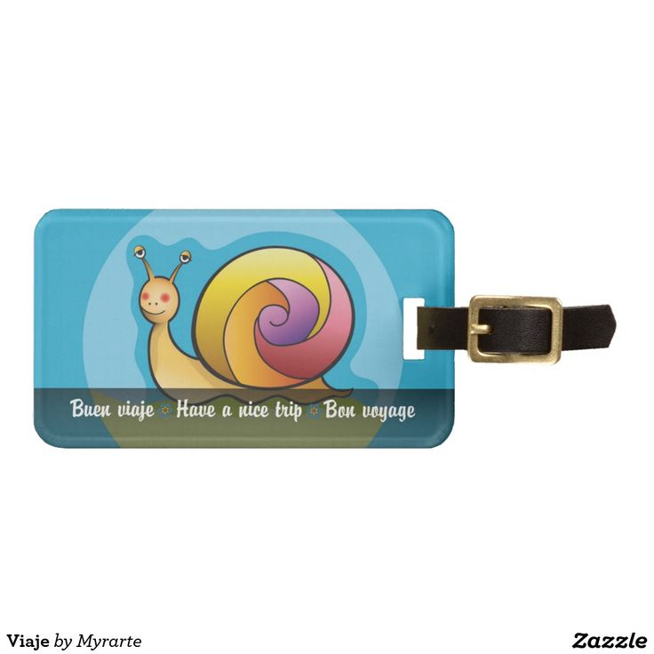 Trip Travel. Producto disponible en tienda Zazzle. Product available in Zazzle store. Regalos, Gifts. Link to product: http://www.zazzle.com/trip_luggage_tag-256943286934809271?CMPN=shareicon&lang=en&social=true&rf=238167879144476949 #Bag #Tags #caracol #snail #viaje #travel