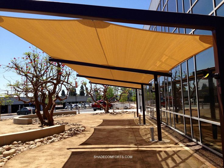 Shade Sails Installer Canopy Contractor California