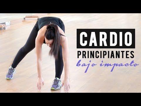 Cardio 5 minutos para principiantes de bajo impacto