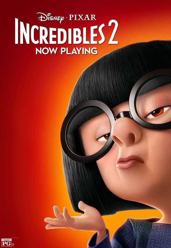 Incredibles 2 Character Posters Edna Mode The Incredibles Incredibles 2 Poster New Movie Posters