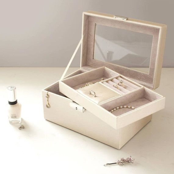 Pearl Shimmer Jewellery Box