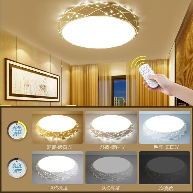 42.56$  Watch here - LED ceiling light for living dining room AC85~265V home ceiling decoration lighting fixtures modern led dimming lampara de techo  #shopstyle