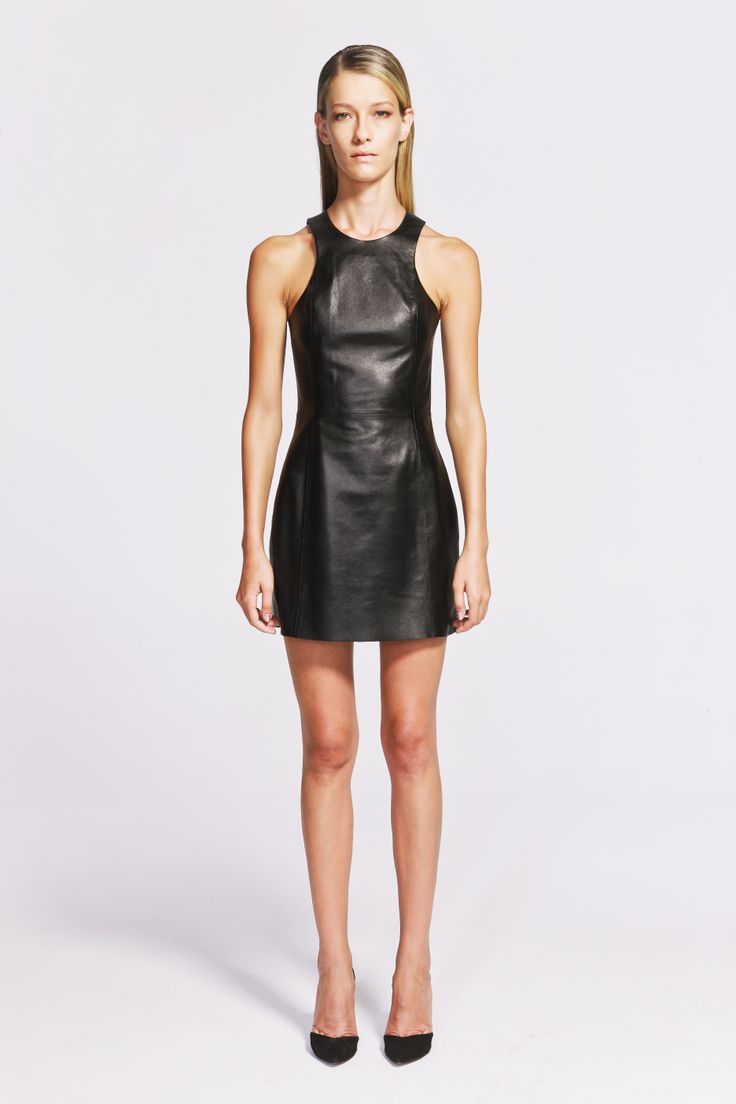Selina Leather Dress  https://www.jibeoh.com/product/listing/40/selina_elbise