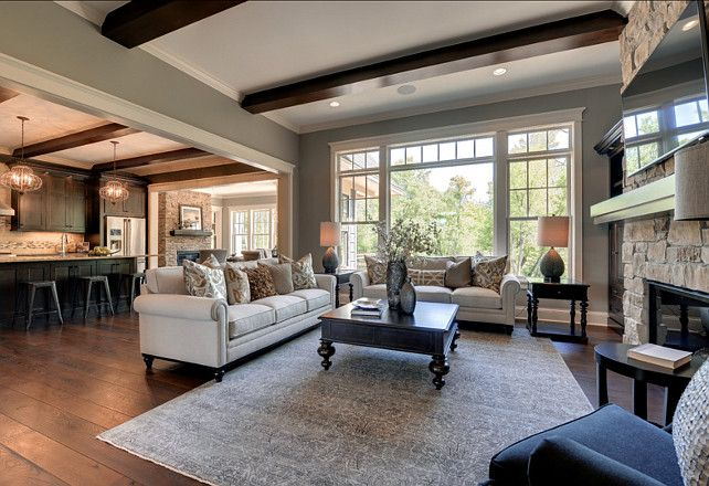 House Tour: Family Home with Trendy Interiors - http://www.decorhomeideas.com/house-tour-family-home-trendy-interiors/