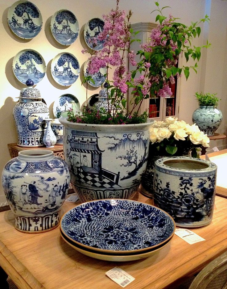 Van Thiel has the best reproduction antique blue and white porcelain in the marketplace. I never