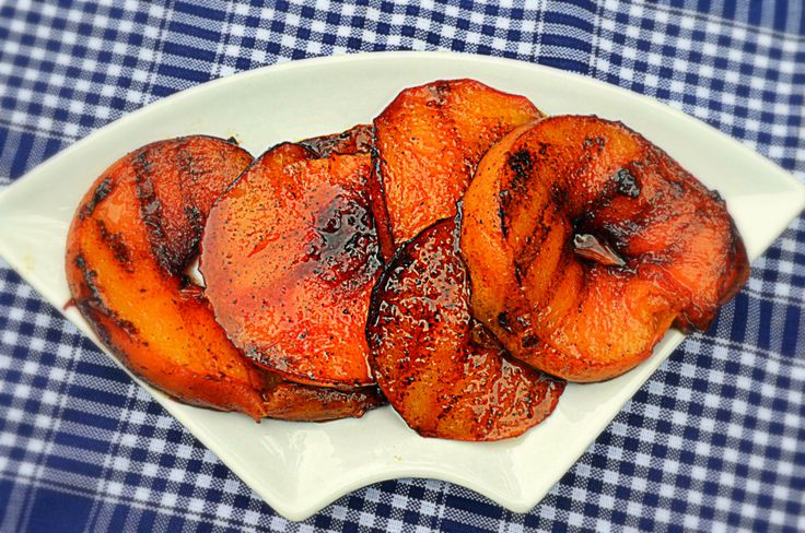 Cardamom & Cloves Grilled Peach Rounds' Spices make these luscious ...