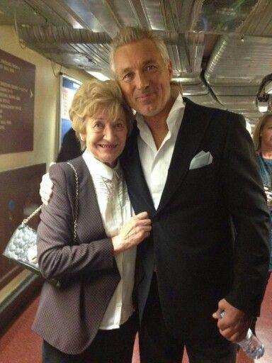 Martin with Steve's mom