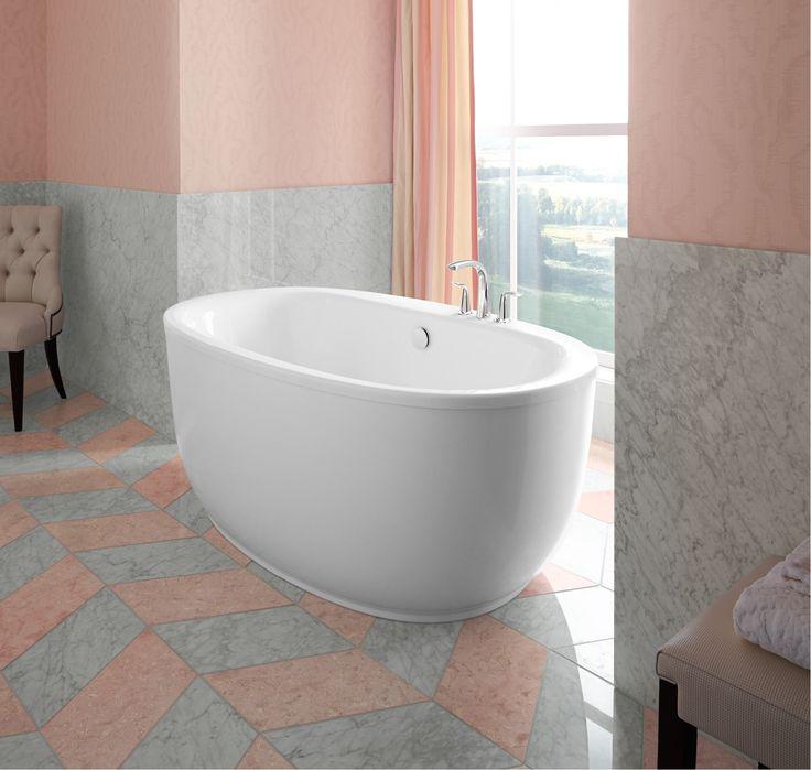 12 best Bathtubs images on Pinterest | Bathtubs, Soaking tubs and ...