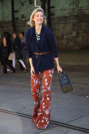 Pantaloni a zampa d'elefante - Idee dallo streetstyle