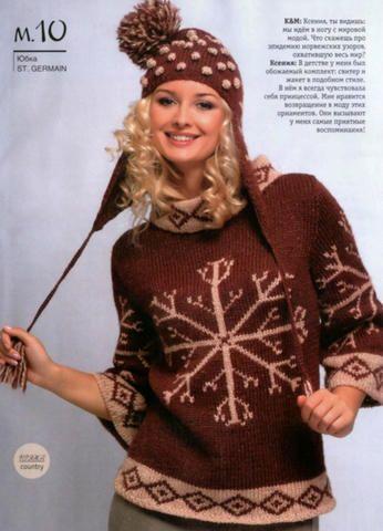 Джемпер и шапка | Вязание и рукоделие