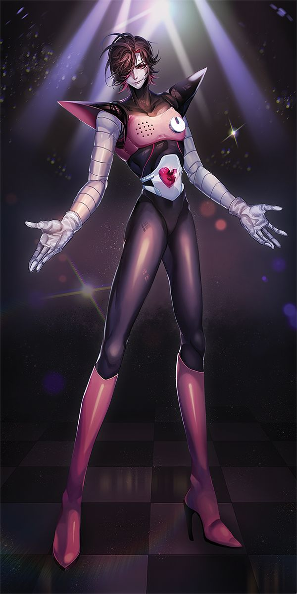 Mettaton Ex (I usually don't save Undertale fanarts but this is so detailed)
