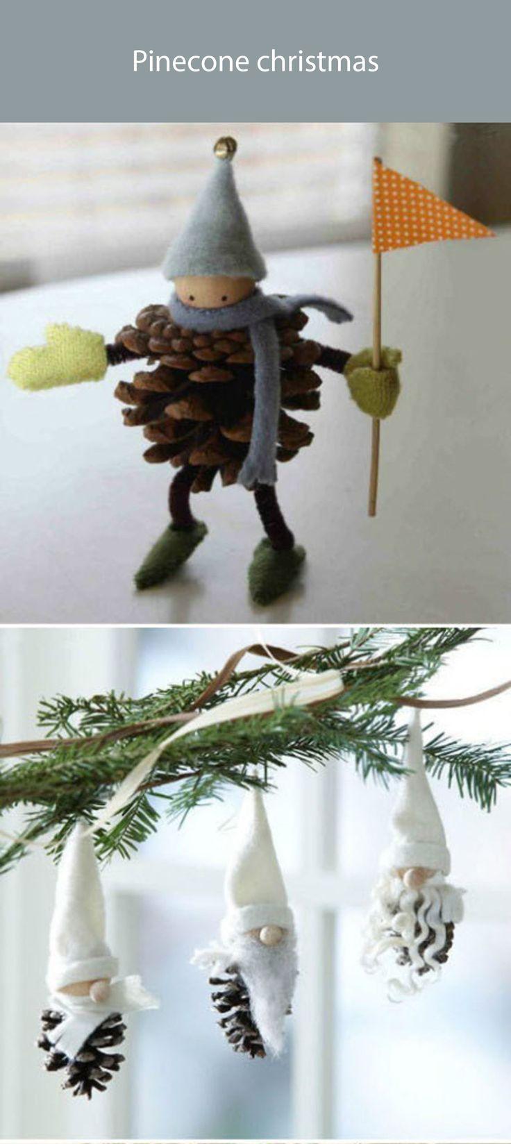 pinecone christmas