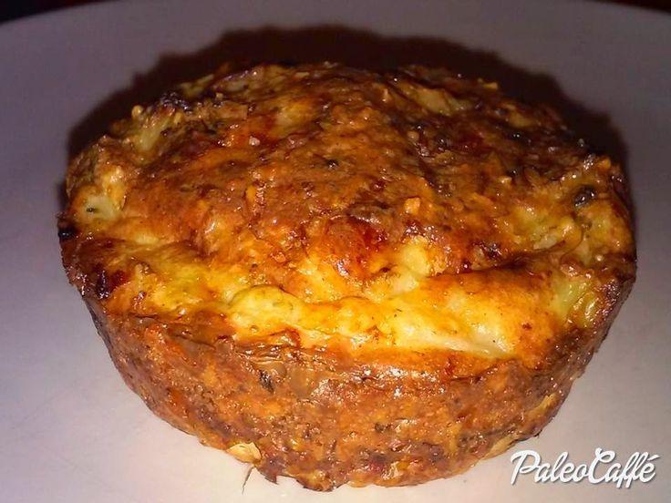 Paleo Caffé: Brokkolis muffin