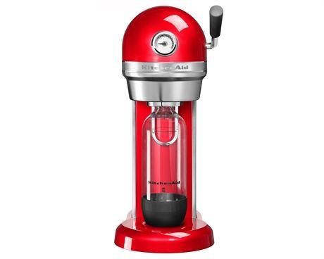 Kolsyremaskin röd, Kitchen Aid Artisan