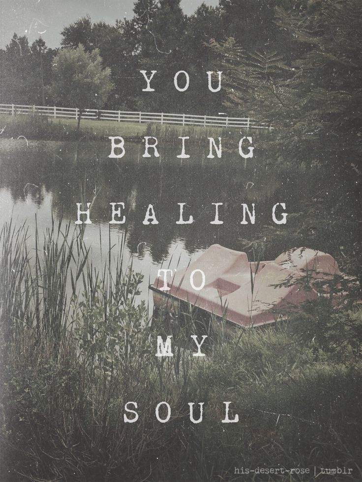 Lord God, You are my healer!  My help comes from You God! I need You now! Your healing touch! // I am not alone ~ Kari Jobe