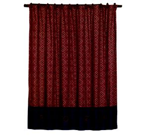 Wrangler Bandana Shower Curtain Western