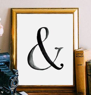 Ampersand Wall Decor 86 best images about home {family artwork} on pinterest | couple