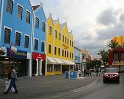 Oranjested Aruba Streetscape.  #onehappyisland