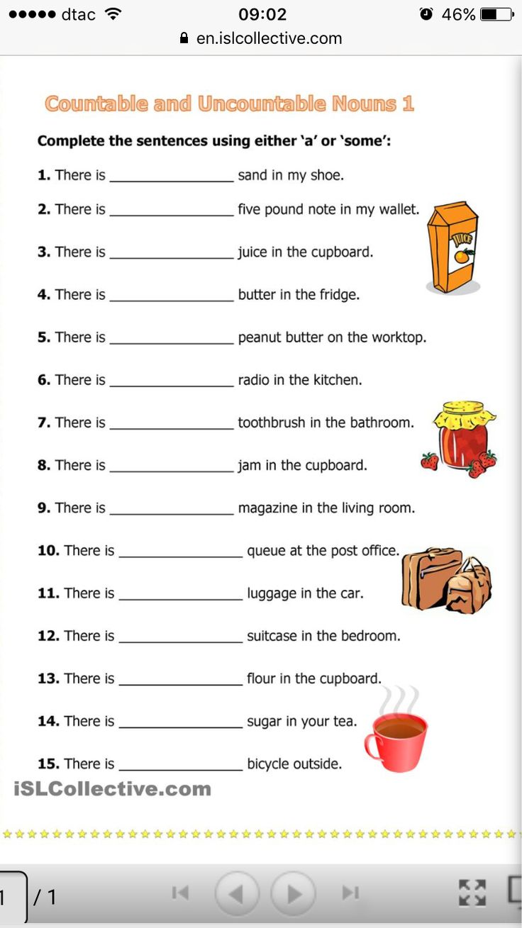 22 best Noun images on Pinterest   Third grade, Worksheets and ...