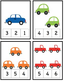 Preschool Printables: Cars