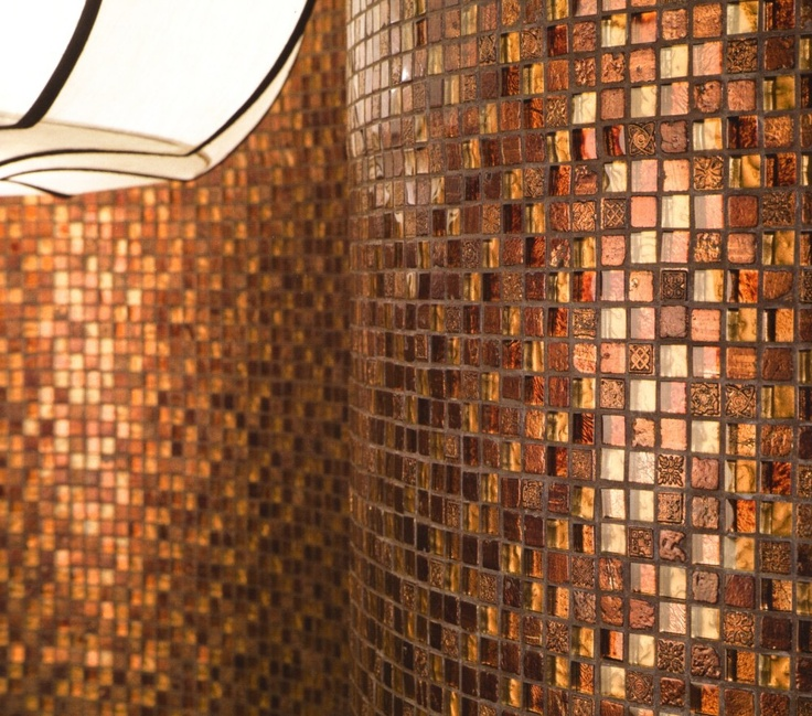 copper tiles bing images our home fireplace room pinterest