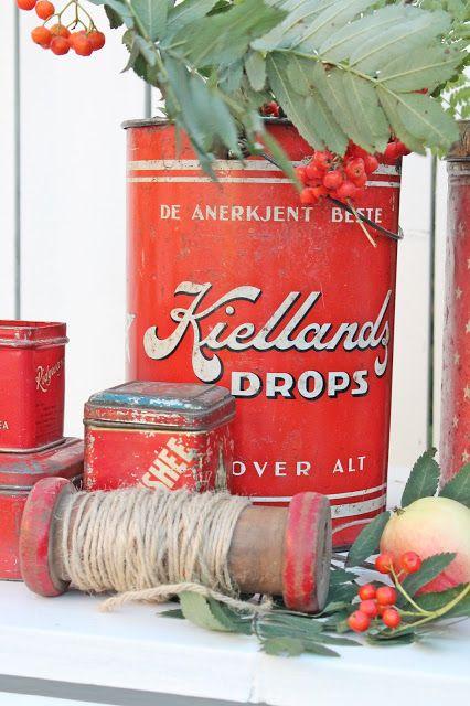 Vintage Red Kitchen Design Ideas