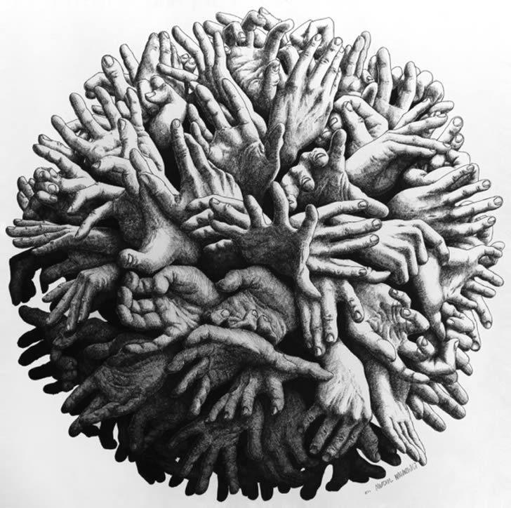 A Big Ball of Hands