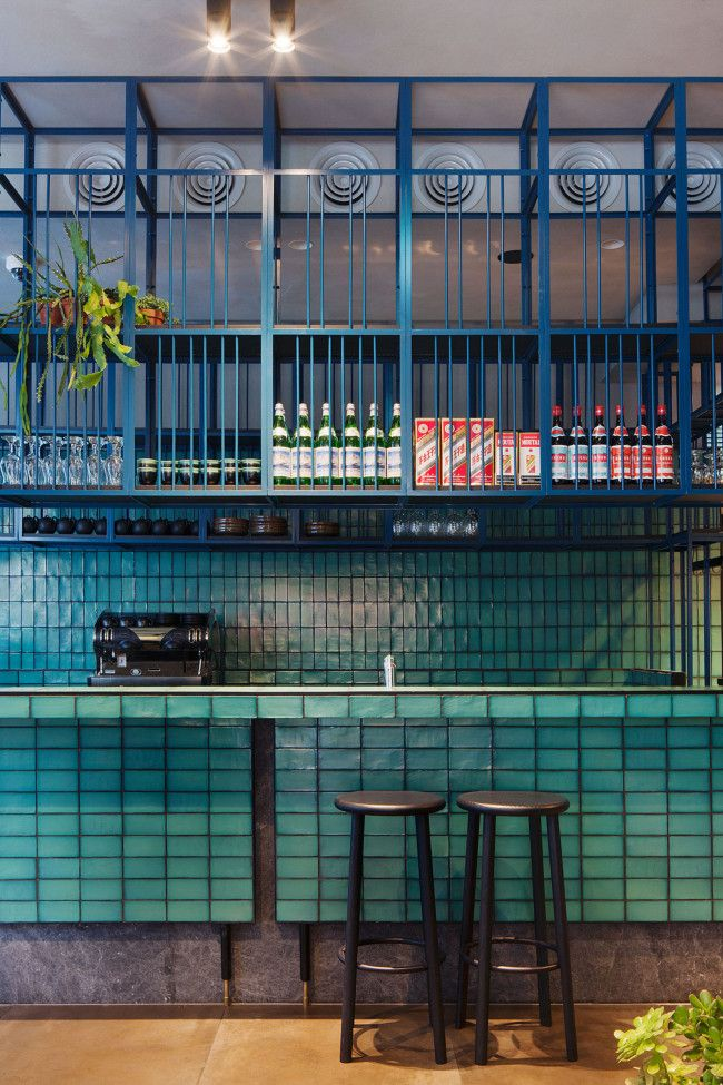 The new addition to Melbourne's Chinese food scene boasts HuTong's famous dumplings and an interior by award-winning studio Hecker Guthrie. Solo barstools by Mattiazzi