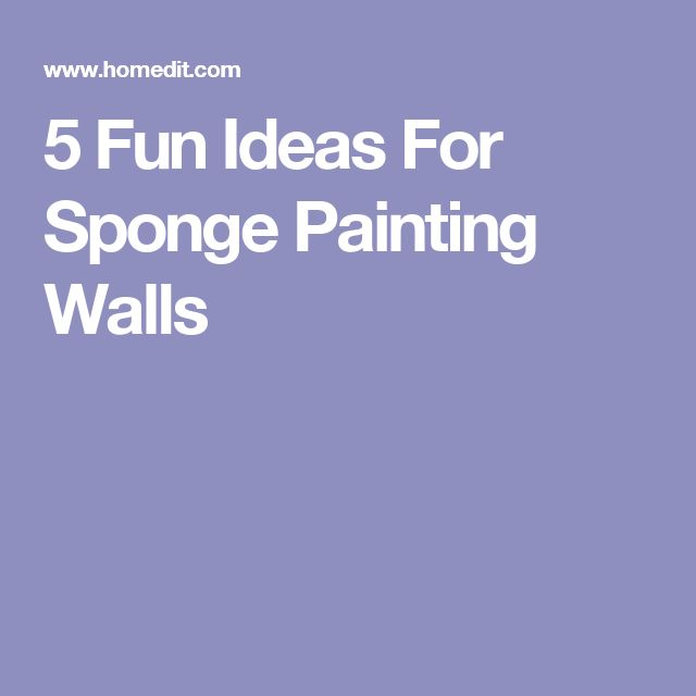 Best 25+ Sponge paint walls ideas on Pinterest