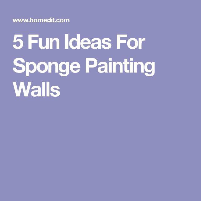 Best 25+ Sponge paint walls ideas on Pinterest