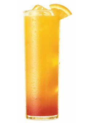 Blood Orange Margarita (Tequila, Cointreau, lime juice, orange juice)