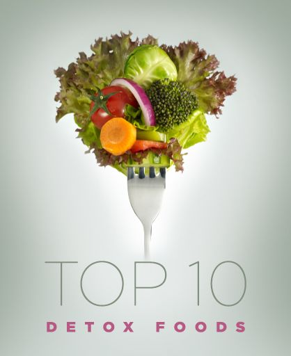 Top 10 Detox Foods #wellnesswednesday #LadyLUX