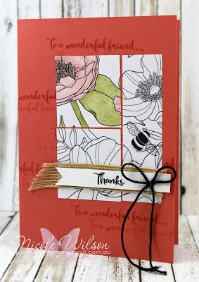 http://nicolejuliewilson.blogspot.com.au/ Saleabrate Occasions 2017 Dragonfly Dreams Bundle with In the Lines Designer Series paper make and take for Brisbane Onstage Live 2016 www.facebook.com/NicoleWilsonStamp #onstage2016 #stampinup #saleabration