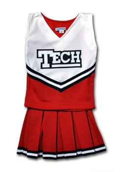 Cheerleading Outfits Texas Tech And Cheerleading On Pinterest