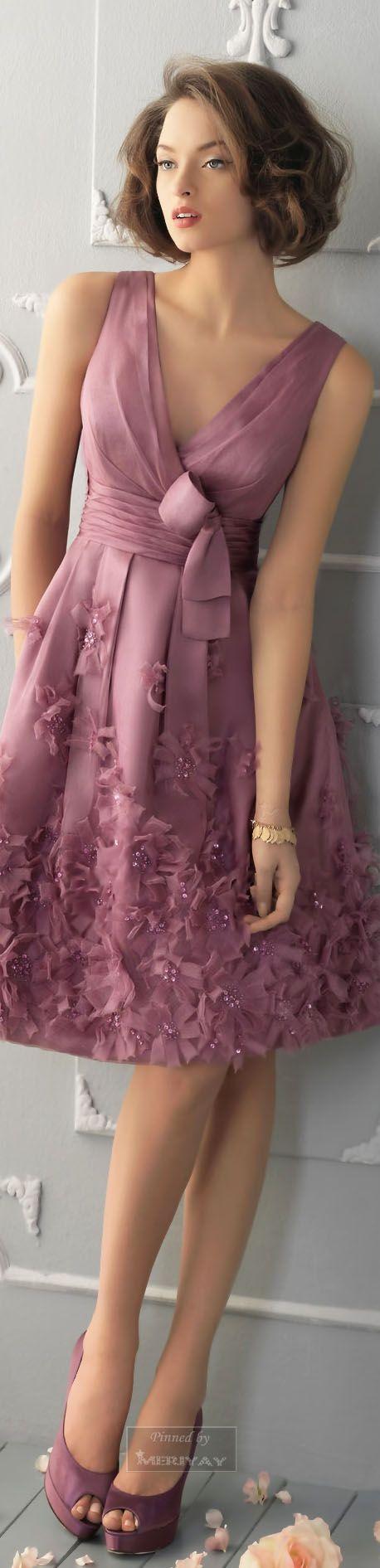 vestido fiesta en lila - Aire Barcelona.