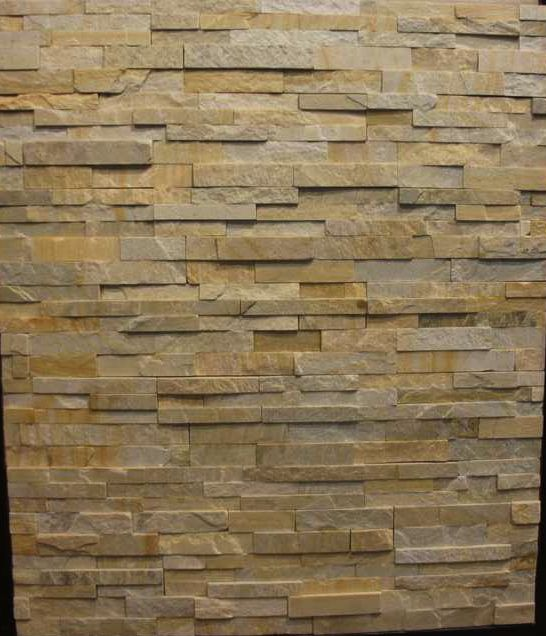 Natural stone wall cladding made in uneven panel form in natural finish it is used on - Flaunt your natural stone wall finishes ...