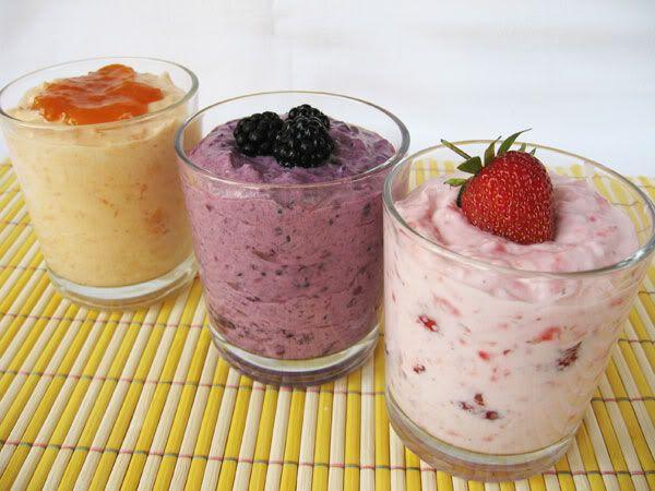 Gyümölcsjoghurt házilag