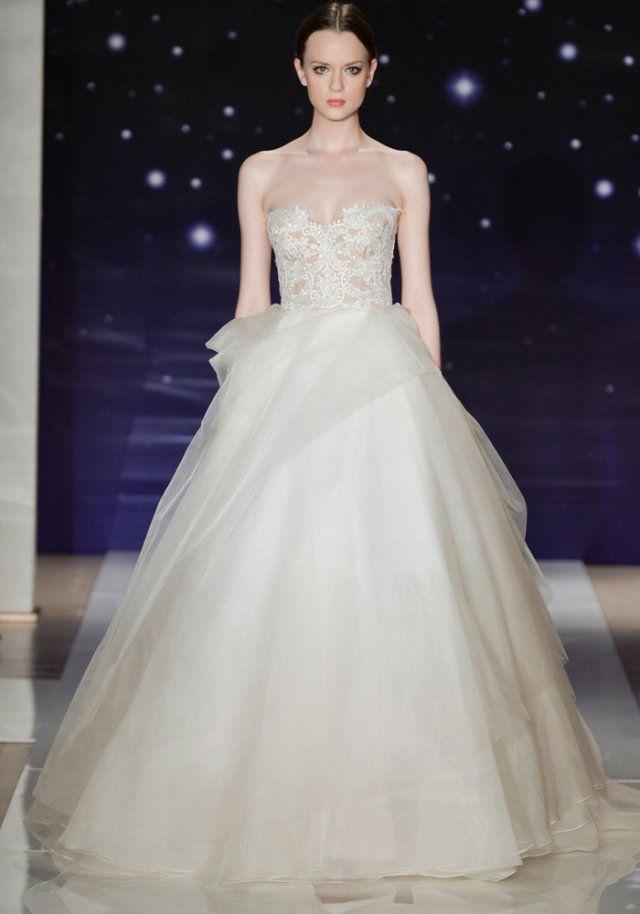 Robe de mariée de princesse Reem Acra 2016 - Marie Claire
