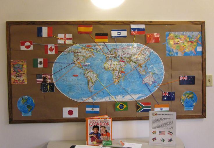 reading around the world bulletin board - Google Search
