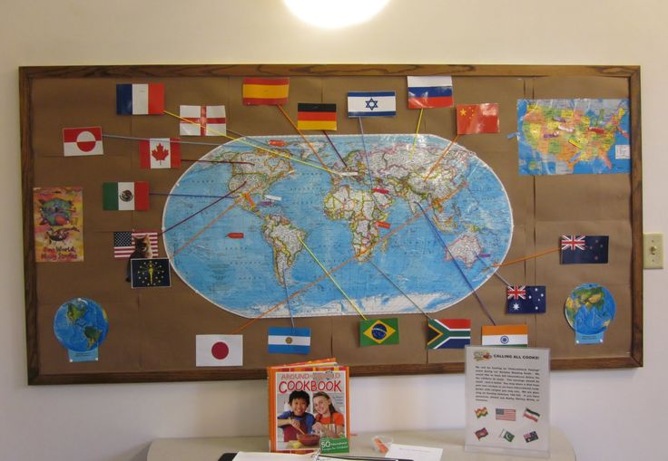 reading around the world bulletin board - Google Search