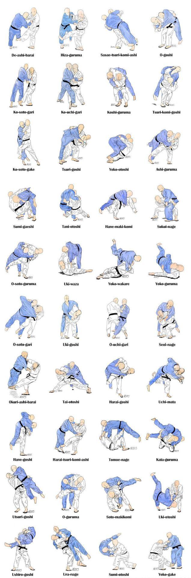 : Photos/pics of Major Judo throws ...