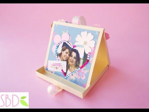 Card targa festa mamma - Mother's day plate card - YouTube