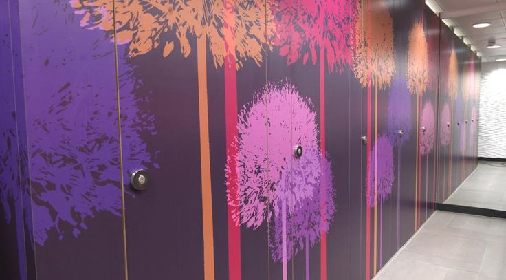 Younique® by Formica Group* High Pressure Laminate (HPL) has been used in the MTV headquarters in Camden, London