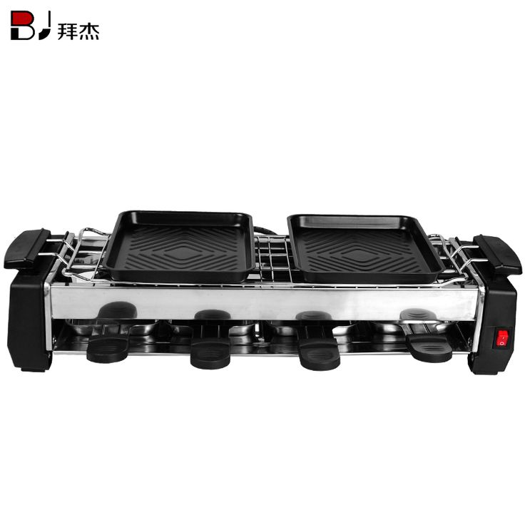 Electric household BBQ grill bbq plate indoor electric hotplate teppanyaki meat machine