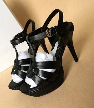 e994d1c1b1 Women's Fashion Candy-Colored Patent Leather T-Strap High-Heel Sandals 15  Colors