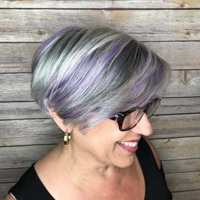 Best 25 Purple Streaks Ideas On Pinterest Eyeliner