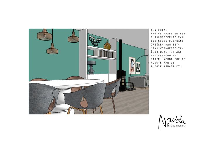 Interior advise for a family home in Castricum by www.noubia.com. #noubia_interieurontwerp #interior #interiors #interieuradvies #interieurontwerp #maatwerk